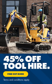 45% off Tool Hire